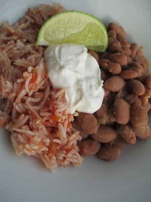 Authentic Pinto Beans and Rice - thefitgirls #Artsandcrafts
