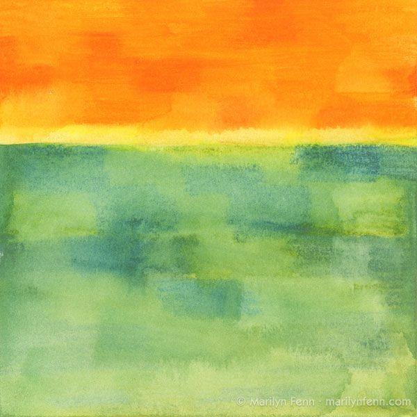 Minimalist landscape marilyn fenn art pinterest for Minimal art landscape