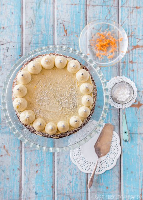 carrot cake with lemon ginger mascarpone icing ...