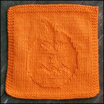 Knitting Pattern Central Dishcloths : FREE PUMPKIN DISHCLOTH KNITTING PATTERNS - VERY SIMPLE FREE KNITTING PATTERNS
