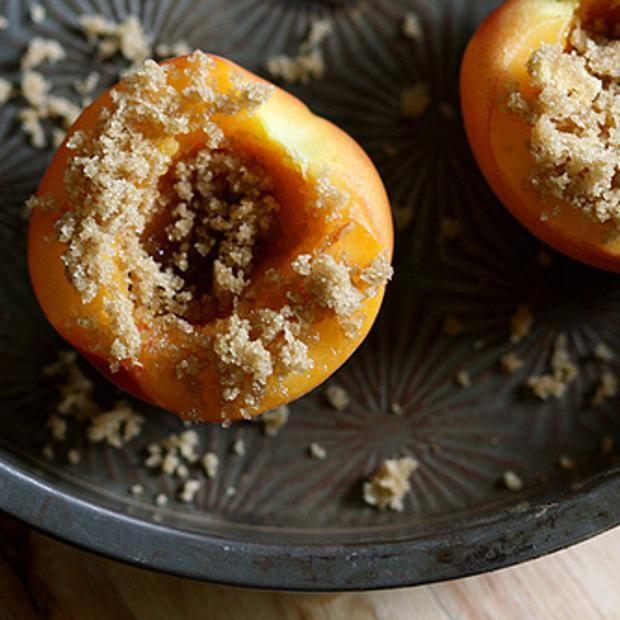 Peach Brulee | Cuisine | Pinterest
