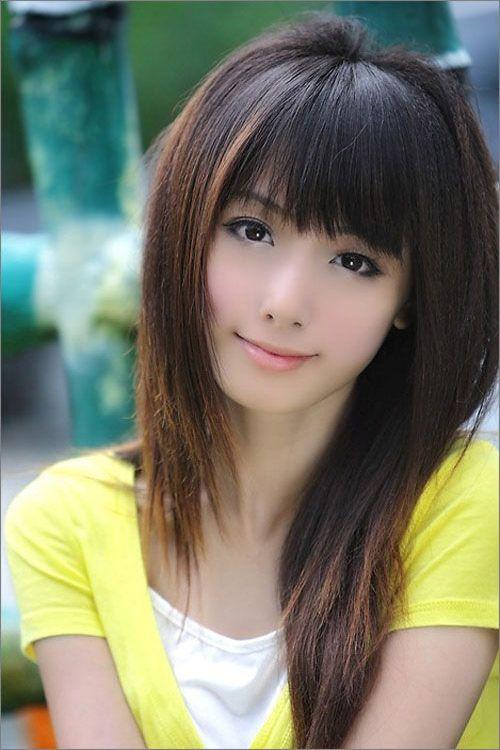 Weave hairstyles with bangs good hair pinterest