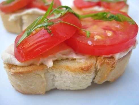 Crostini recipe but vary from the classic garlic, tomato, basil with ...