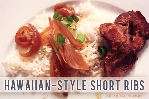 HAWAIIAN-STYLE SHORT RIBS (You'll need a Crock-Pot / Slow cooker ...