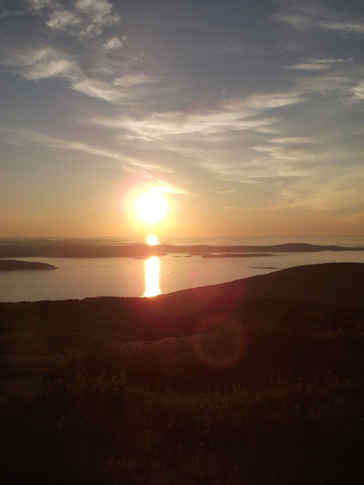 sunrise on cadillac mountain travels with charlie pinterest. Cars Review. Best American Auto & Cars Review