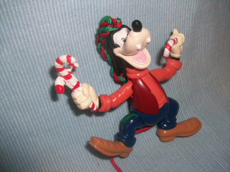 Goofy christmas ornament disney mickey and friends collection ric