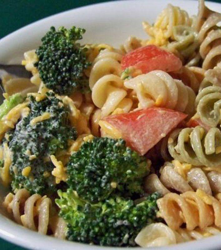 Garden Pasta Salad | Food | Pinterest