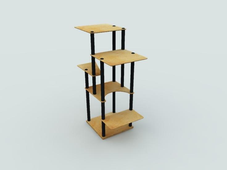 Modern Modular Custom Cat Furniture Cat Furniture