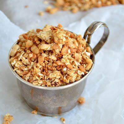 Coconut Granola | Yummy Recipes | Pinterest