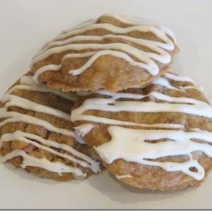 Maple Glaze Drizzled Maple Pecan Cookies—12 Weeks of Christmas ...