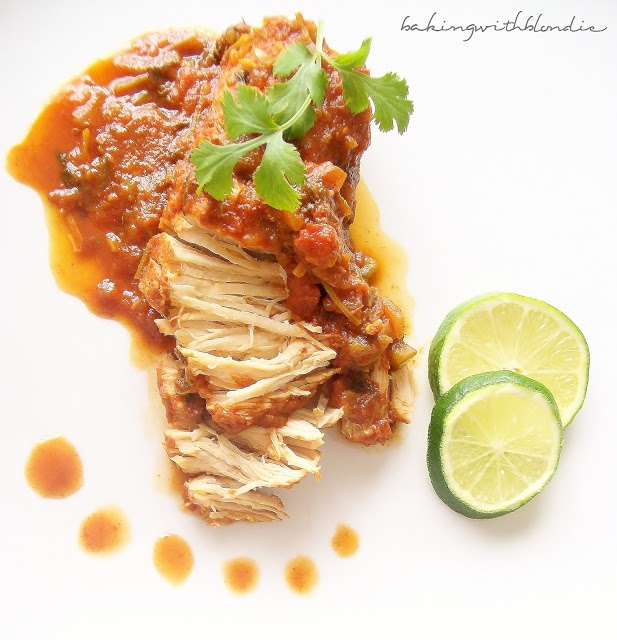 Baking with Blondie : Slow Cooker Cilantro Lime Chicken....for taco ...