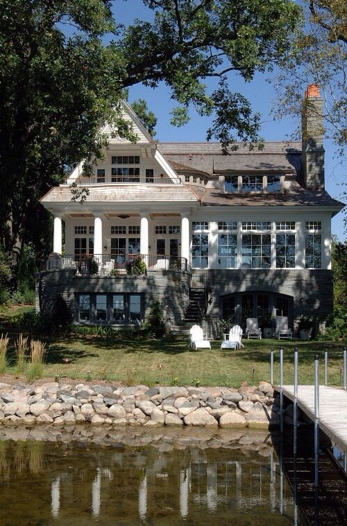 Lake House Exterior Cool Houses In Which I Would Live Pinterest