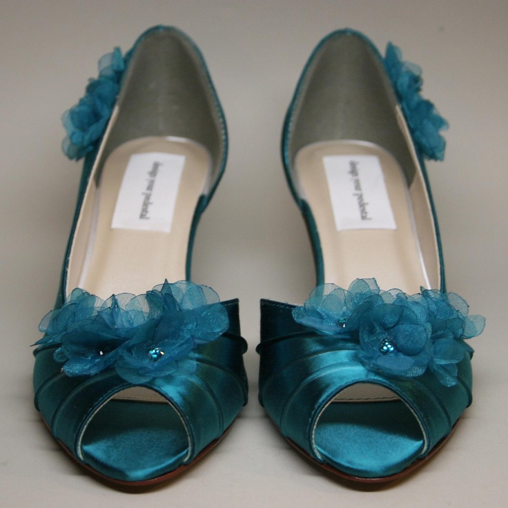Teal Wedding Shoes 018 - Teal Wedding Shoes