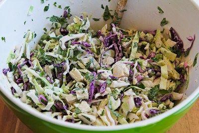 cilantro peanut slaw spicy cilantro peanut slaw pasta with cilantro ...