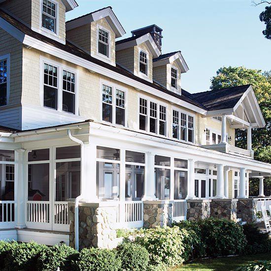 Front porch design ideas wrap around porches for Wrap around porch designs