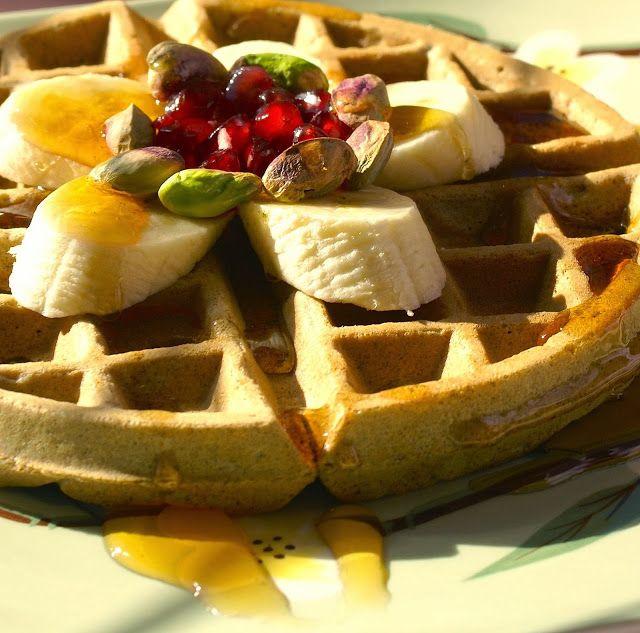Buckwheat Banana Bread Waffles | ♡ Breakfast ♡ | Pinterest