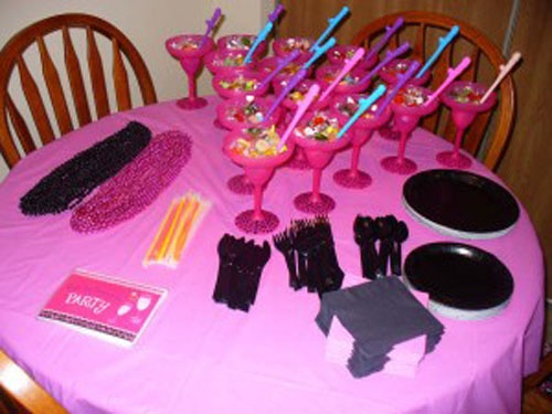 Pin by laska sex ed with a twist on bachelorette parties for Bachelorette decoration party