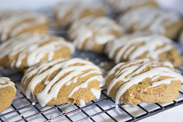 Iced Pumpkin Cookies — JaMonkey - Atlanta Mom Blogger | Parenting ...