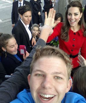 Kate Middleton is the ultimate photobomber