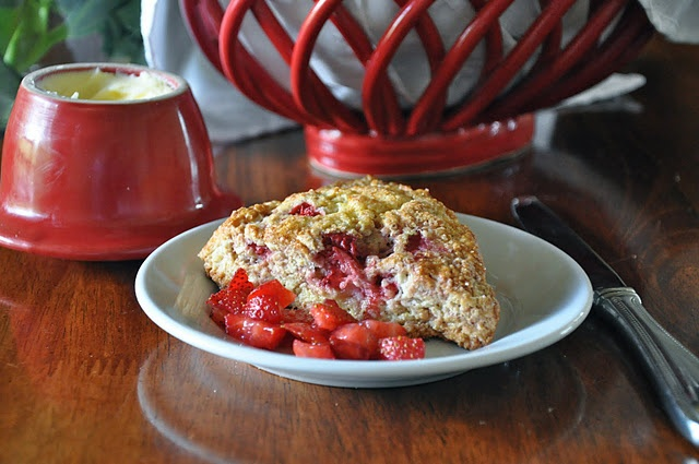 Fresh Strawberry Scones | Recipes | Pinterest