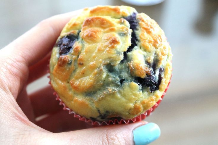 Blueberry coconut flour muffins | Recipes of the Delish | Pinterest