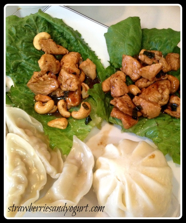 chicken & cashews in lettuce cups | Strawberries and Yogurt - recipes ...