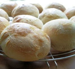 White Overnight Buns. Photo by French Tart