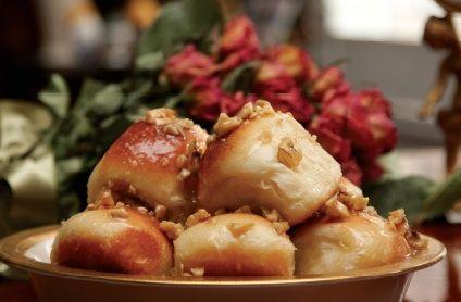 Honey Glazed Walnut Rolls | Breads, Rolls & Pizza... | Pinterest