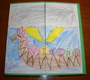 Viking Lapbook Idea