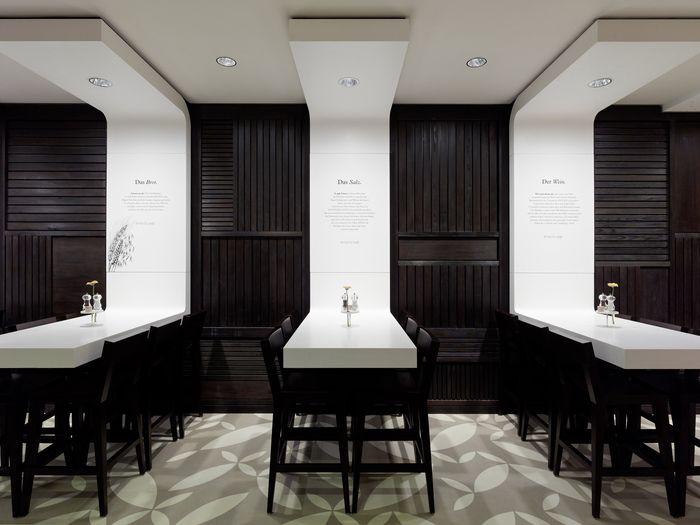 Cool restaurant design children of the night nightclubs for Table design for restaurant