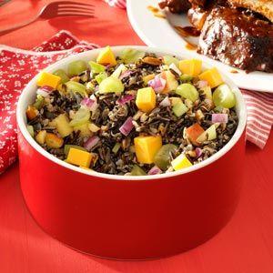 Almond & Apple Wild Rice Salad | Recipe