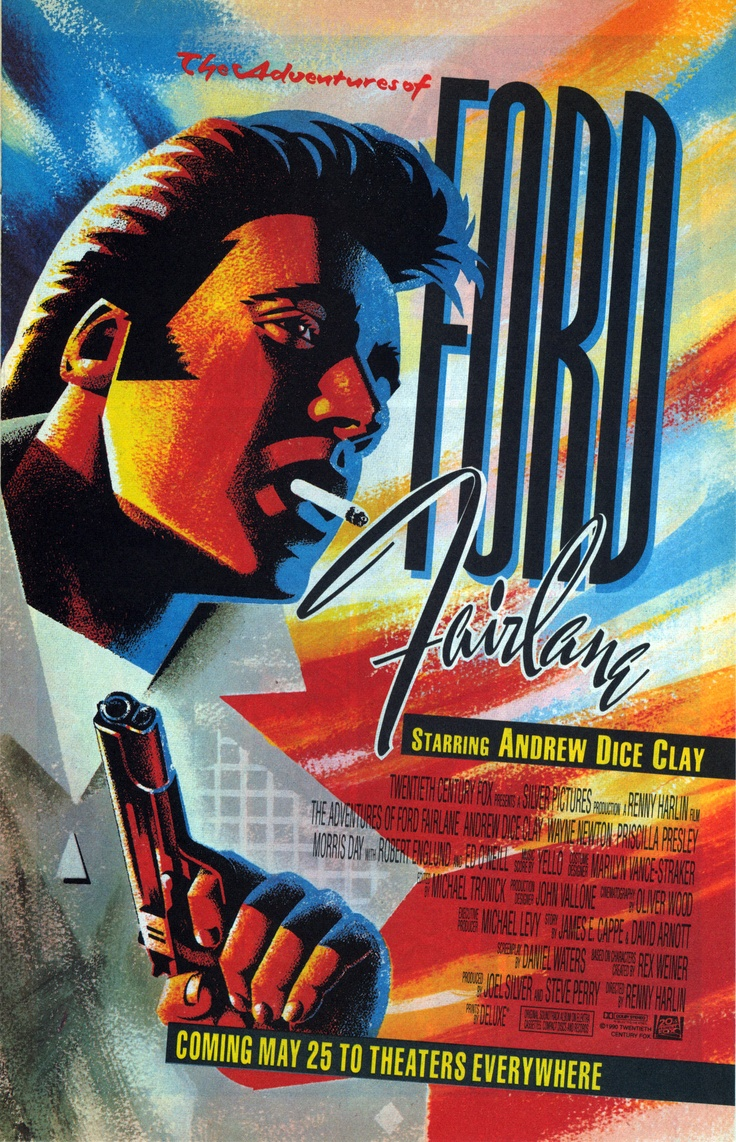 the adventures of ford fairlane 1990 starring andrew dice 199. Cars Review. Best American Auto & Cars Review