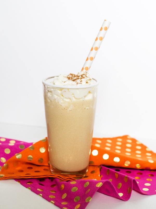 Biscoff Cookie Butter Milkshake by Sarah Hearts