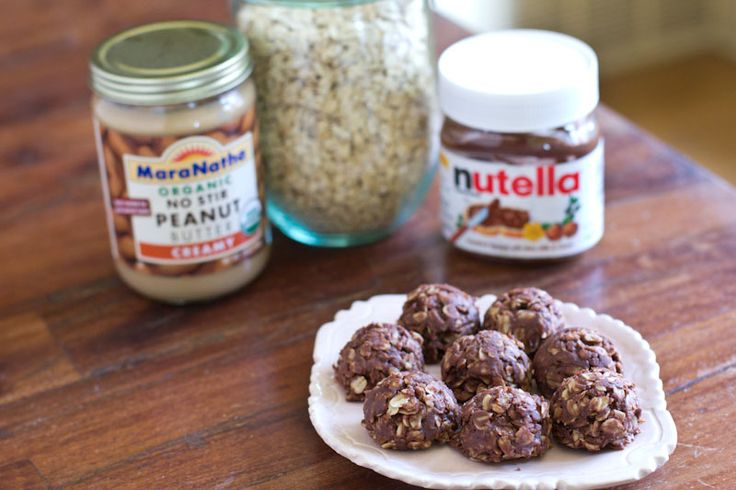 Nutella No Bake Cookie Recipe | NUTELLA!!! | Pinterest