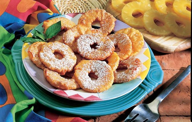 Pineapple Fritters | Recipes: Desserts - FRUIT | Pinterest