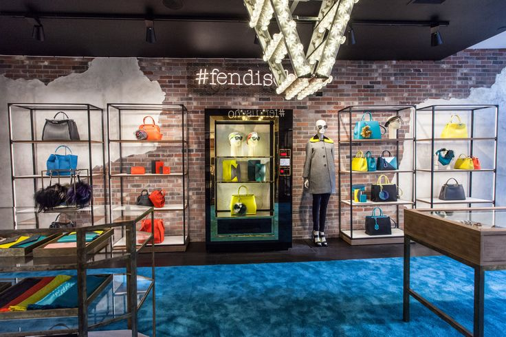 Fendi Custom Vending Machine in NYC SoHo Pop-Up-Shop