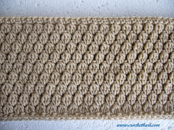Crochet Stitches Cluster : crochet cluster stitch - Google Search Knit and Crochet Pinterest
