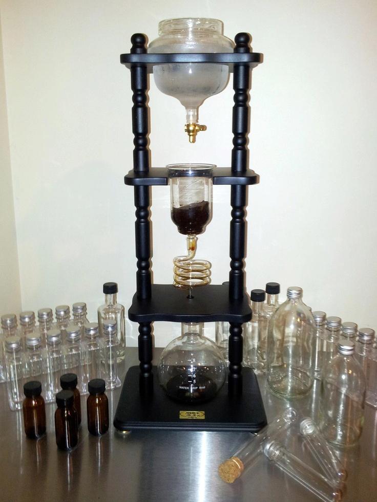 Cold Drip Coffee Maker Yama : Yama cold drip coffee at home C8H10N4O2 Pinterest