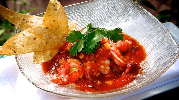 ecuadorian shrimp ceviche | shrimp · sweet corn · jicama · chipotle ...