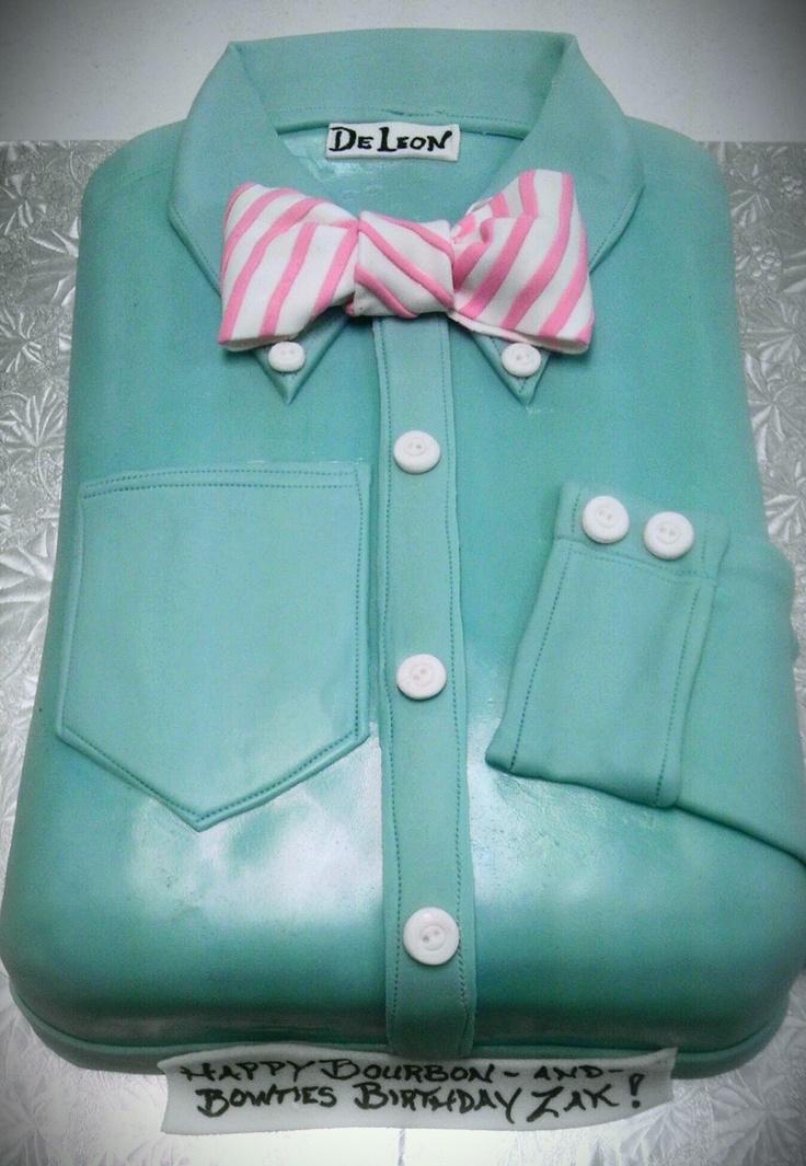 Cake Design Shirts : Bow Tie and Dress Shirt cake cake ideas Pinterest