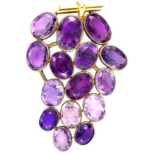 Suzanne Belperron - Grape Brooch