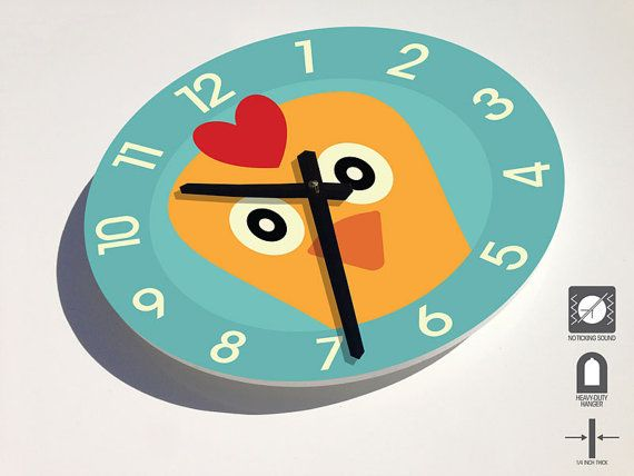 Comwall Clock For Kids Room : Wall Clock For Kids Room : Wall Clock for Kids Room