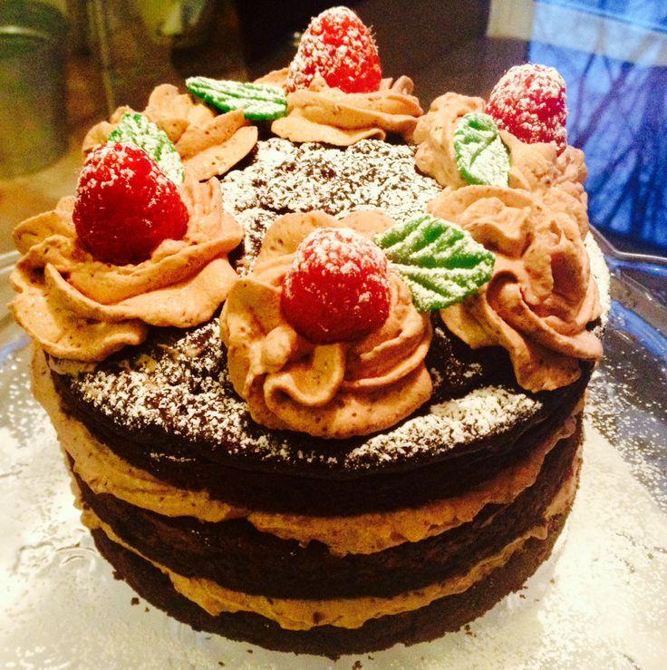 valentines day fondant cake