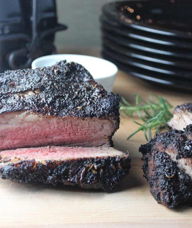 ... dishmaps tip with marinated tri tip roast with harissa marinated top