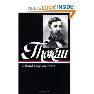The essays of henry d thoreau