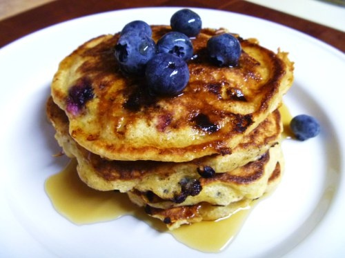 homemade cottage cheese blueberry cottage cheese pancakes kitchen ...