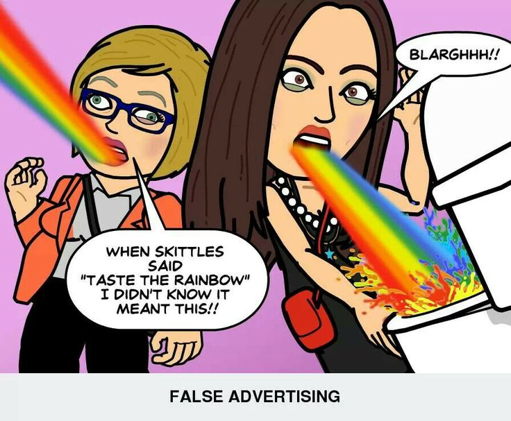 the effects of false advertising Examples of false or misleading claims  these are some of the most common types of false or misleading advertising reported to the accc fine print and.