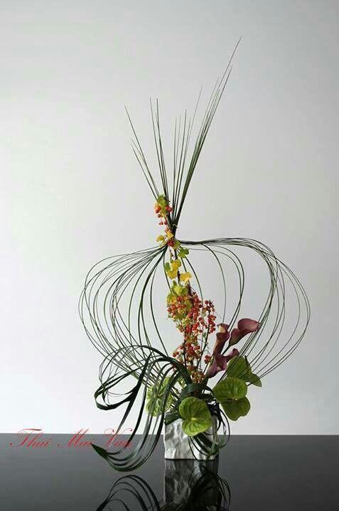 Modern Flower Arrangements flowers Pinterest