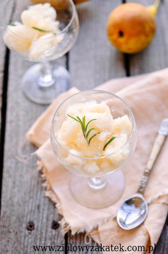 pear sorbet | Pear..Perfection | Pinterest