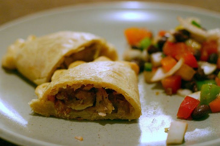 Chicken Empanada with Chorizo and Olives | Love chicken! | Pinterest